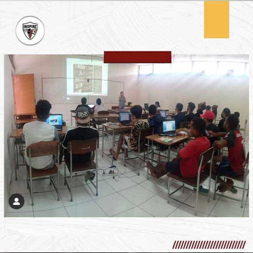 Computer Class for Papuan Boys at Paulus Senior High School – Bandung